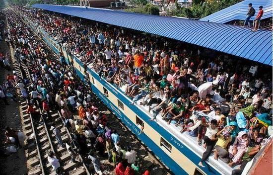 印度火车站(图源:中华网)
