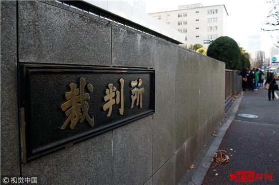 ▲2017年12月11日,江歌案在东京开庭审理。