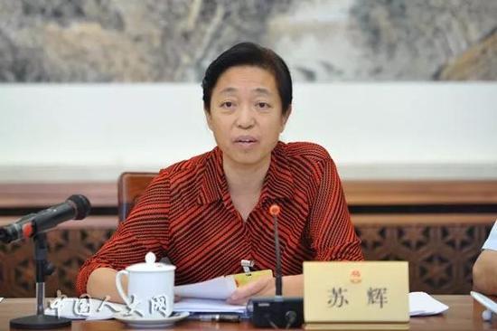 台盟中央主席苏辉