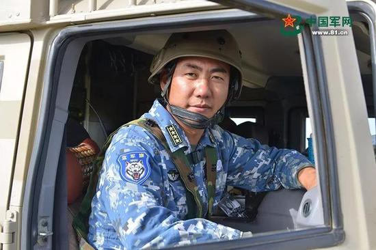 中国第一蓝军旅旅长满广志