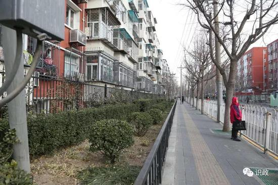 志强北园社区沿街房屋违建全部拆除