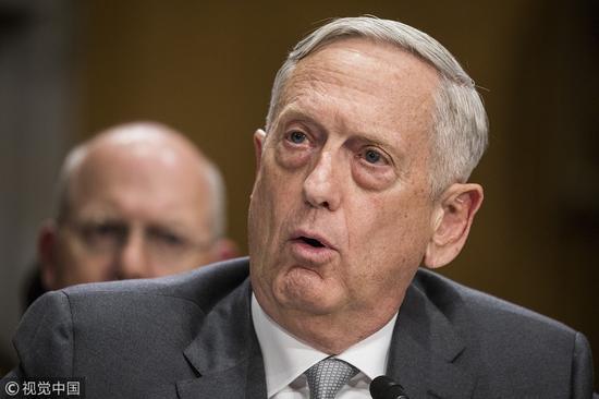 """美军发布国防战略报告:中俄超越""""反恐""""成首要威胁"""