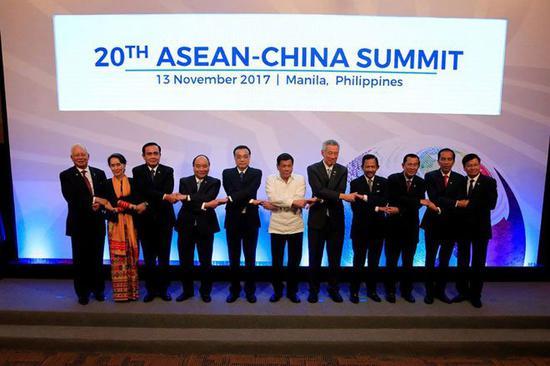 第20届中国-东盟峰会,菲律宾马尼拉。
