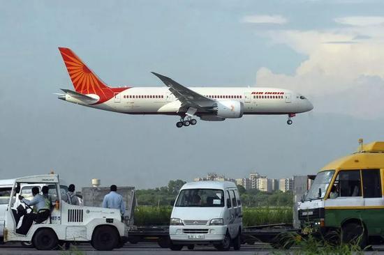 ▲印度航空公司客机(美联社)