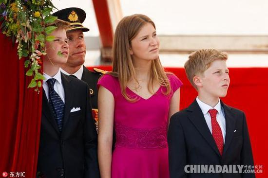 伊丽莎白公主不仅要掌握法语与荷兰语,现在还在学习中文。(图片来源:东方IC)