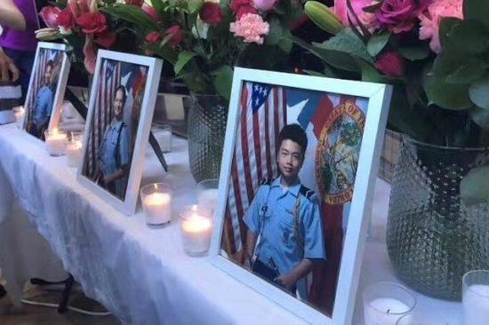 美国华裔少年为保护同学遭枪杀 将以荣誉军礼安葬