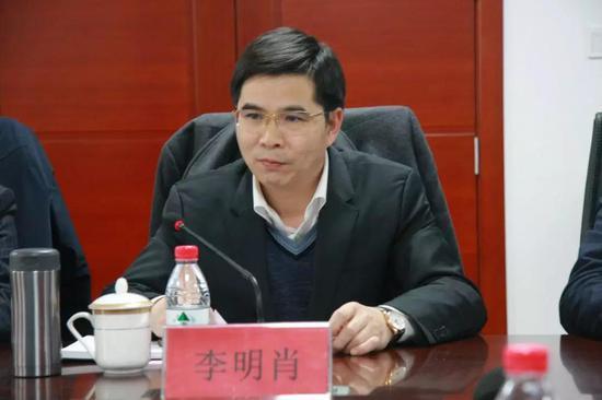 河北银监局局长李明肖。栗翘楚摄