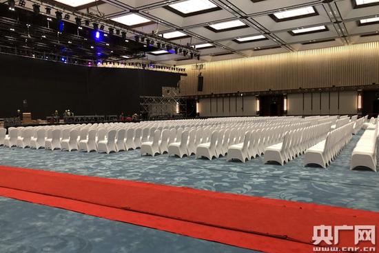 第四届世界互联网大会·乌镇峰会会场(摄影 央广网记者谢梦洁)