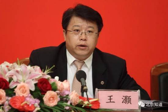 朝阳区长王灏。新京报记者 吴江 摄