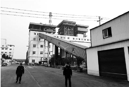 富欣热电厂厂区。