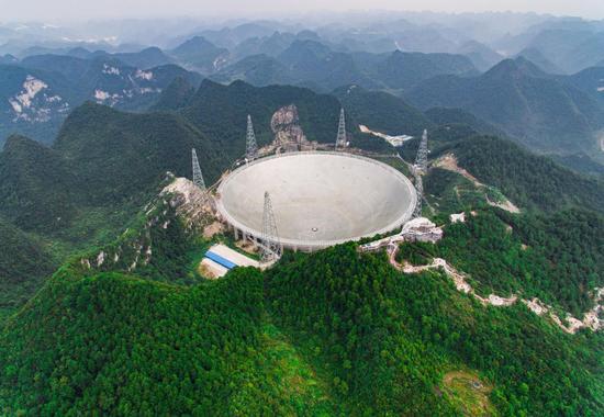 """500米口径球面射电望远镜""""天眼"""""""