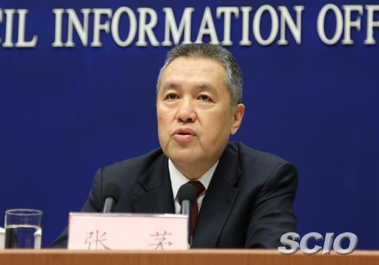 国家工商行政管理总局局长张茅(刘健 摄)