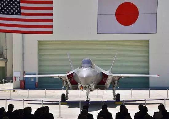 △首架在日本國內組裝的F-35A戰鬥機
