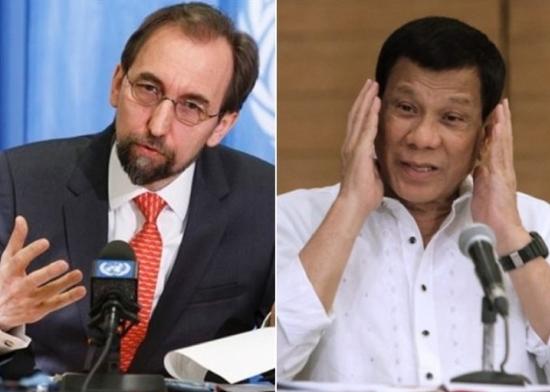 杜特尔特骂人权调查员 联合国专员:需要