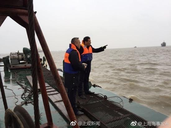 幸运飞艇投注平台app:上海吴淞口沉船曾发生碰撞_已有3人获救