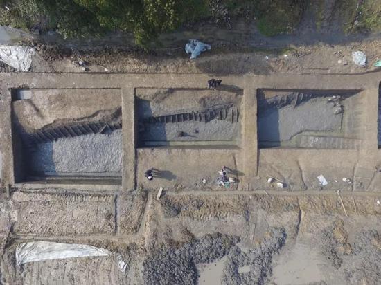 fun88乐天使_钟家港河道(GH02)南段考古发掘情况