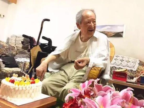 2017年8月3日,宿白先生95岁生日