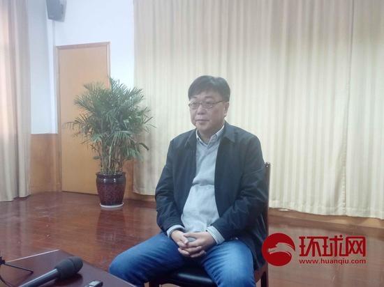 桂敏海9日露面接受媒体采访