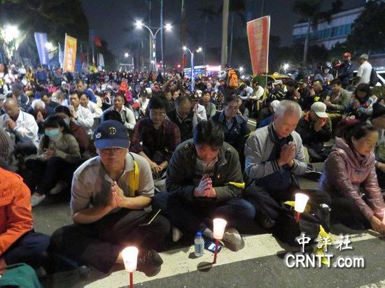 缪德生同学说,缪的志愿就是捍卫中华反台独。(中评社)