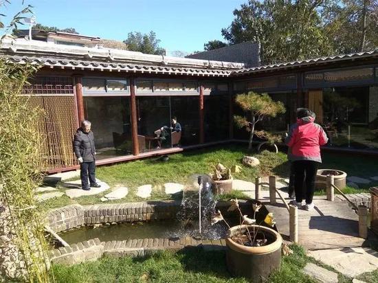石窑小镇品农家生活