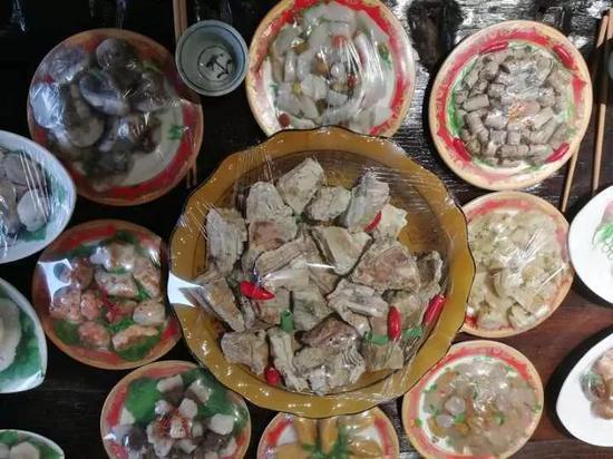 浙江台州现价值20万满汉全席 材料全是石头[图]