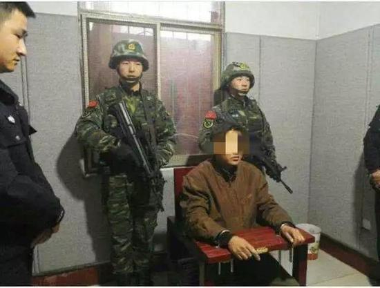 ▲犯罪嫌疑人张扣扣。 图片来源:华商网