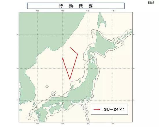 俄罗斯苏-24侦察机飞行路线图