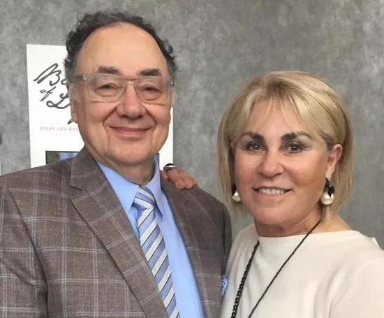 ▲巴里・舍曼夫妻 图据加拿大新闻社