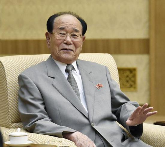 韩政府:将对朝鲜代表团长金永南提供元首