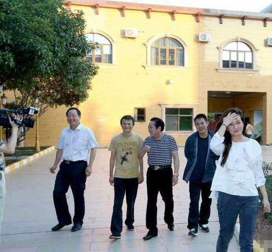 馬雲、李連杰、趙薇和王林