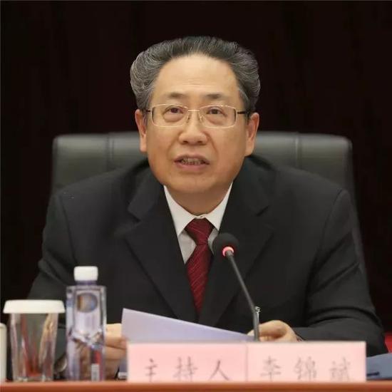 全国人大代表,安徽省委书记、省人大常委会主任 李锦斌