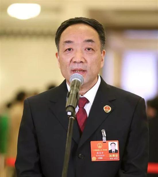 全国人大代表、贵州省检察院检察长 傅信平