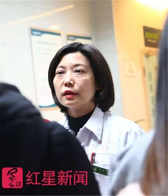 ▲中国人民解放军武汉总医院生殖中心主任张娟。图片来源红星新闻