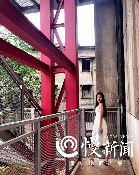 日常生活中的王馨连,特别喜欢拍照