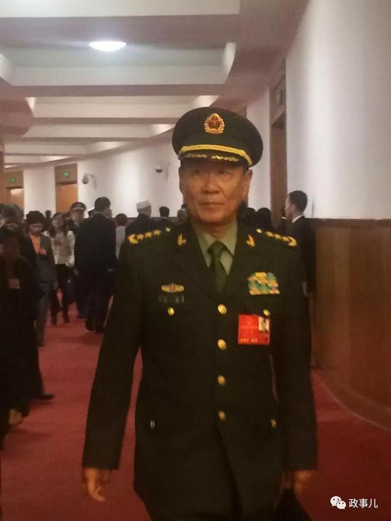 附第十三届全国人民代表大会代表名单之解放军代表团(269名)