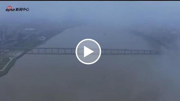 航拍魅力滨海——空中俯瞰滨海中心商  务区