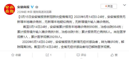 「摩天注册」5月14日报告无新增本地摩天注册确诊图片