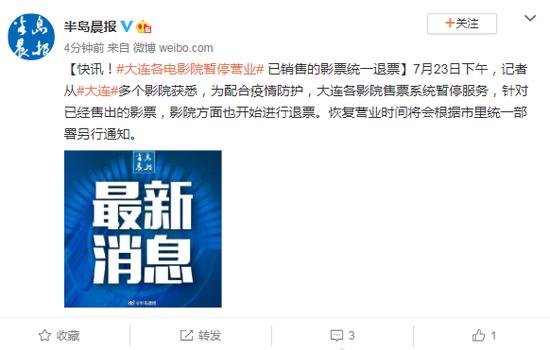 赢咖3官网,各电影院暂停营业赢咖3官网已销售的影图片