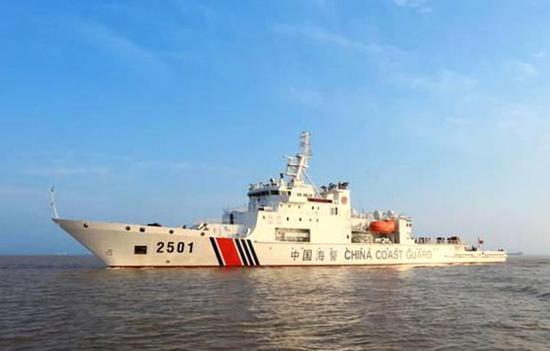 中国海警2501