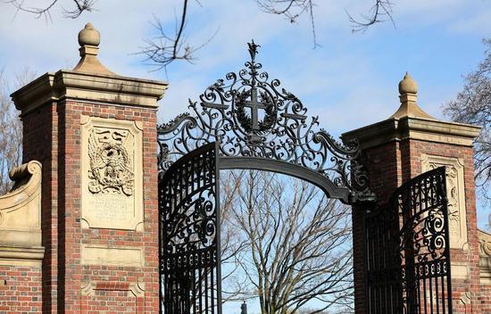 资料图:哈佛大学的庄士顿门