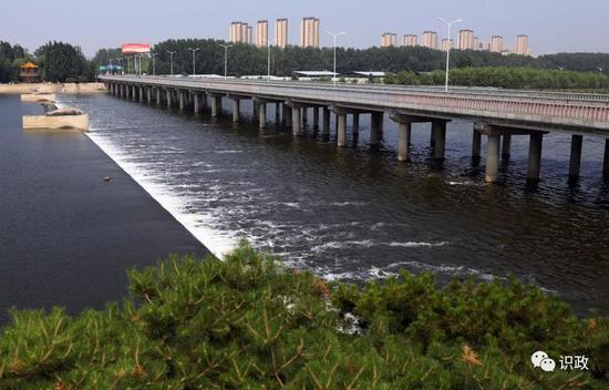 潮白河上的友谊大桥