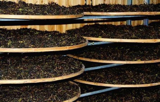 武夷岩茶的加工