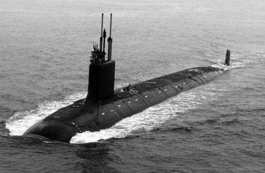 美軍弗吉尼亞級攻擊潛艇(資料圖片)