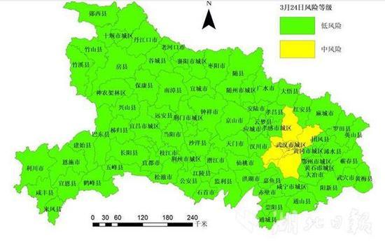 武汉市城区疫情评估等级降为中风险图片