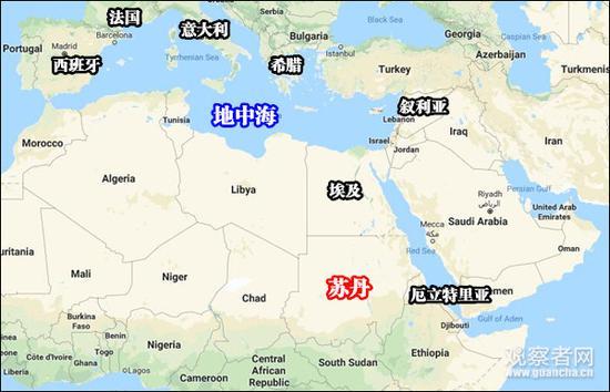 区域地图,Google Map