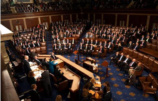 ▲美国众议院资料图