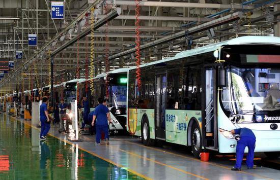中企助俄快速升級公共交通