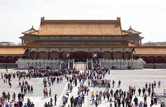 北京故宫博物馆 东方IC 资料图