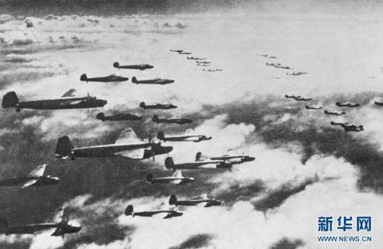 △侵华日军重庆大轰炸