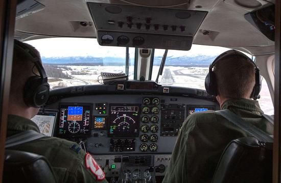 MC-12W侦察机驾驶室